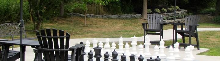 Outdoor Chess Garden