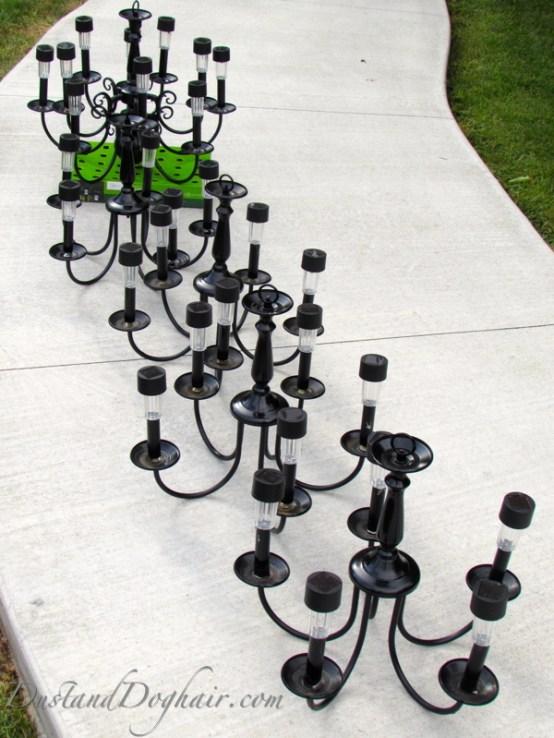 solar lights, stake lights, garden lights