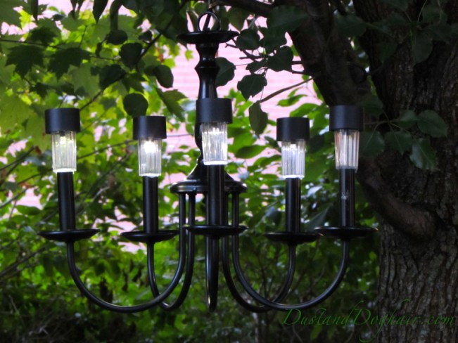 small solar chandeliers