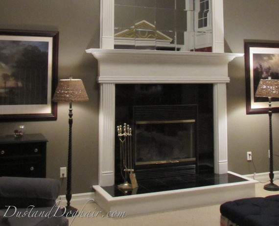 DIY Fireplace Overmantel Project - Lessons Learned