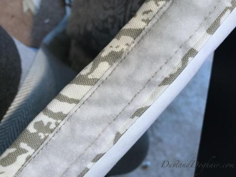 velcro header, custom window treatments