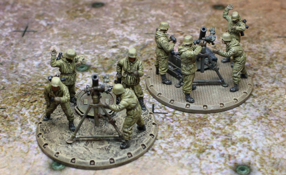 Ready, Aim, Fire !!! - Mortars/Moździerze