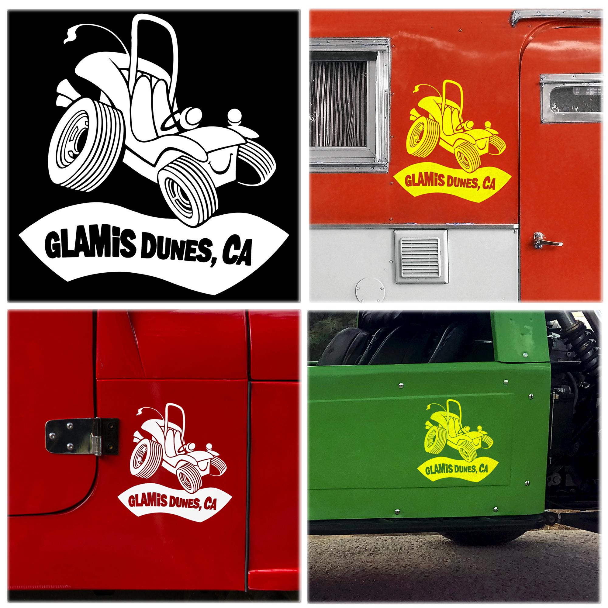 got sand Quad  sticker decal Car Truck dunes dumont glamis atv PICK COLOR!