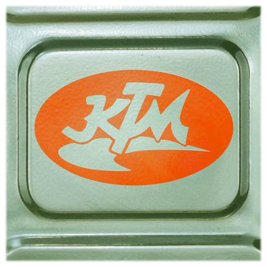 Vintage KTM Decal