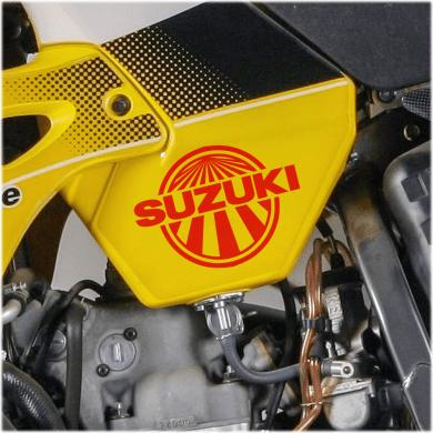 Suzuki Sun Decal