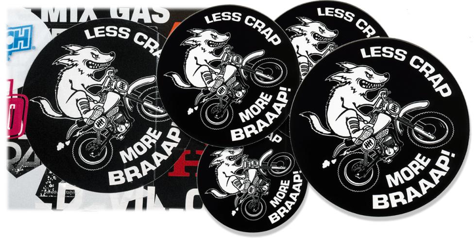 Brand New Sticker Debut