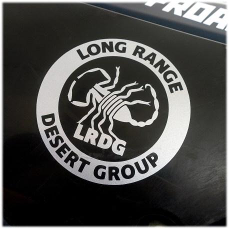 Long Range Desert Group Decal