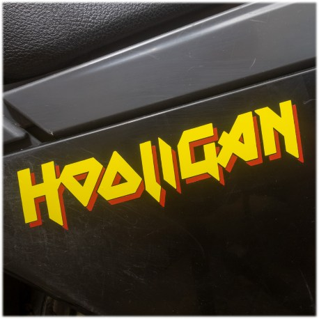 Hooligan Decal