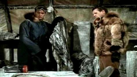 Ferraday comes upon Jones and Vaslov