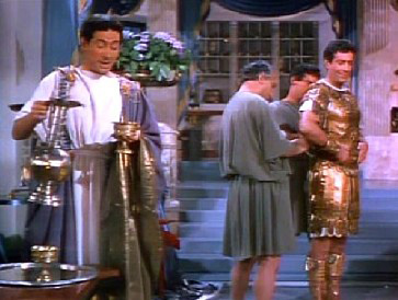 Marcus and Petronius have a chat