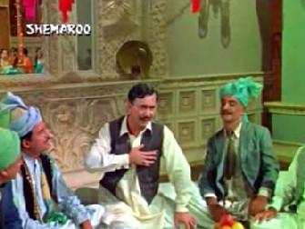 Balraj Sahni in Waqt