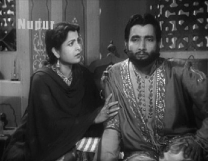 Ghalib with his wife