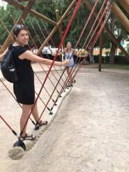 Big kids on the playground