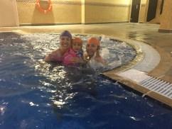 Warm pool time