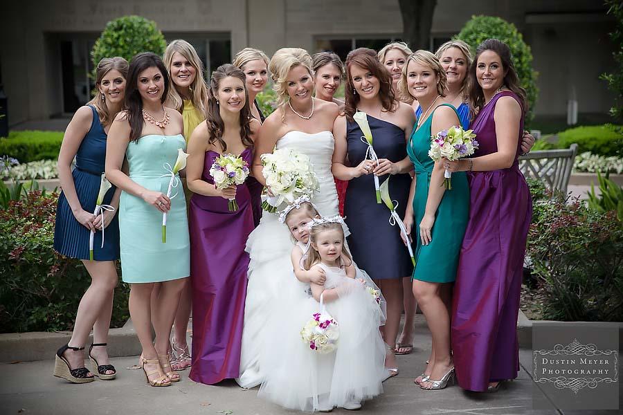 wedding bridesmaids dresses photos