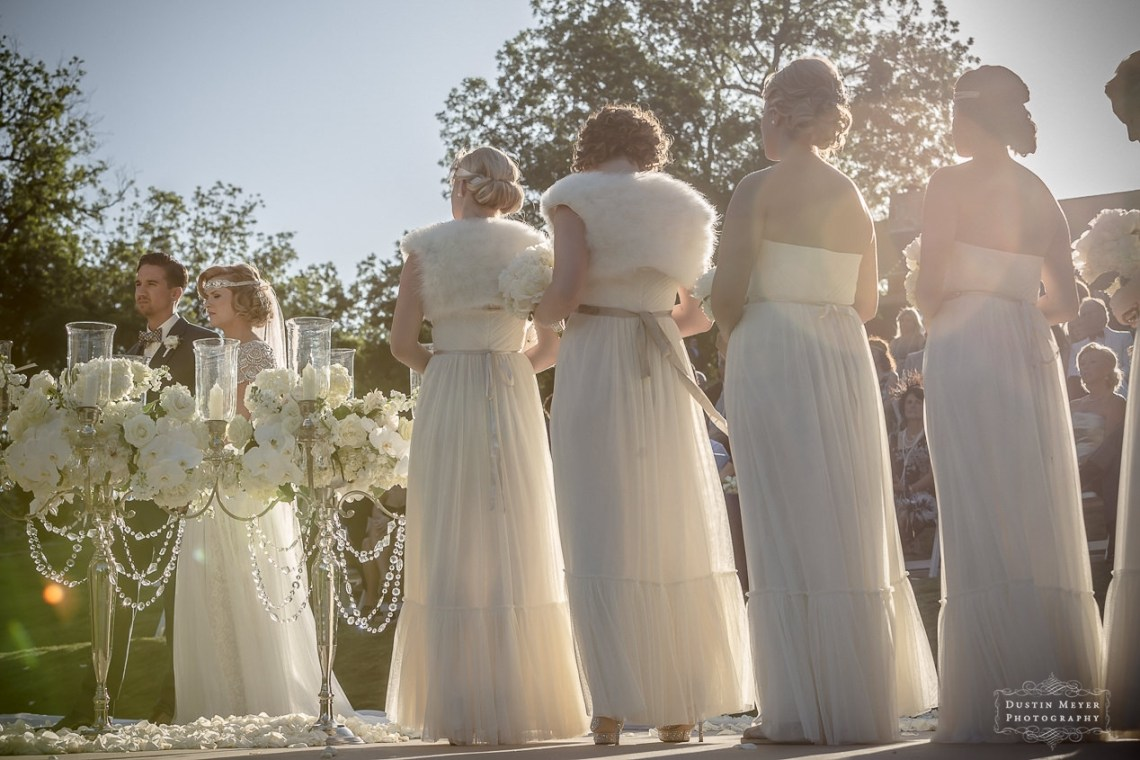 Bridesmaids Wedding Gowns Gatsby Style