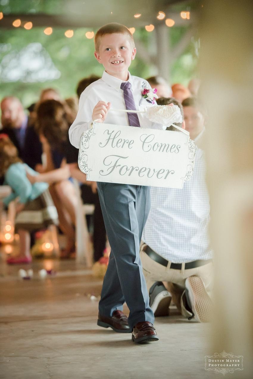 wedding day signs ideas Hyatt Lost Pines Wedding