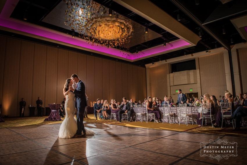 wedding reception ideas from the first dance photo Hyatt Lost Pines Wedding