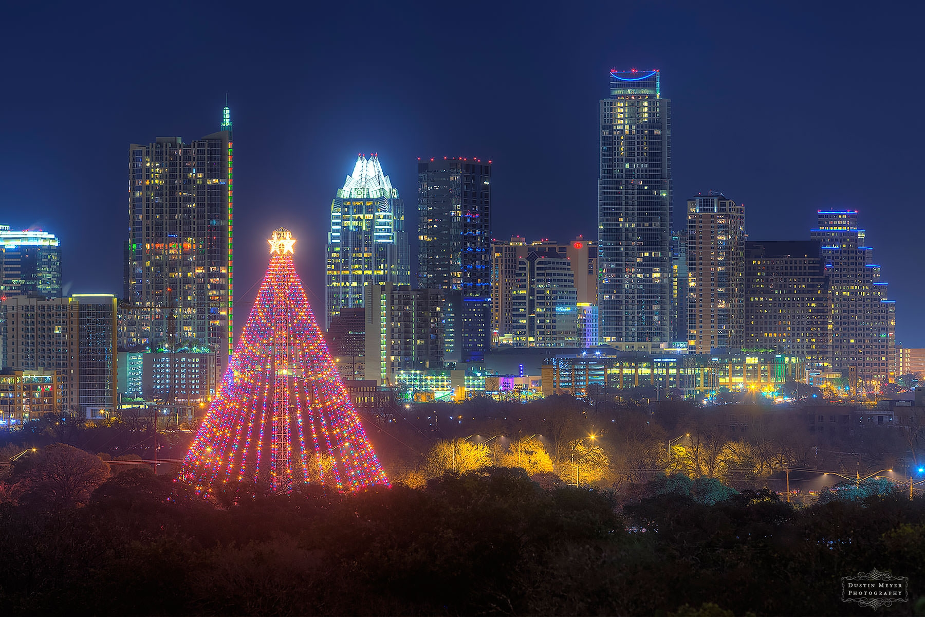 Merry Christmas | Zilker Christmas Tree