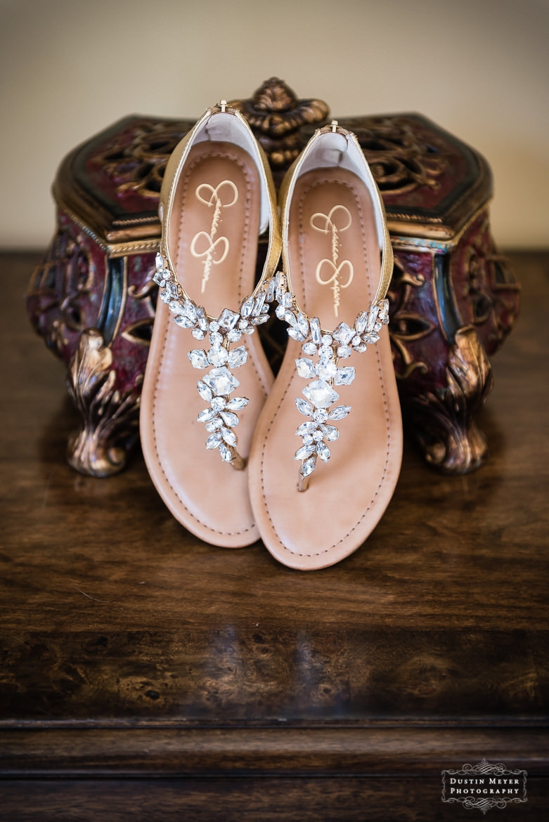 bridal wedding sandals shoes