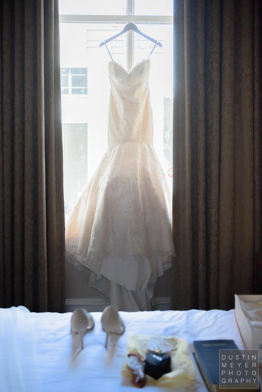 Bridal Gown   Driskill Hotel Wedding Austin Wedding Photographers