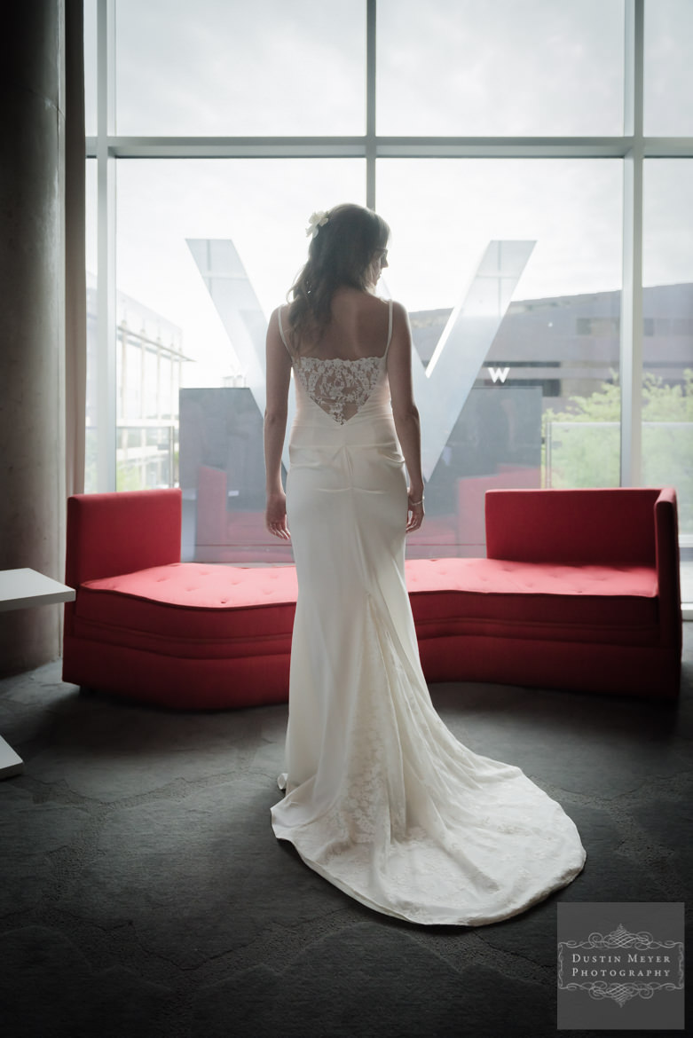 Bridal Gown with Lace | The W Hotel Austin