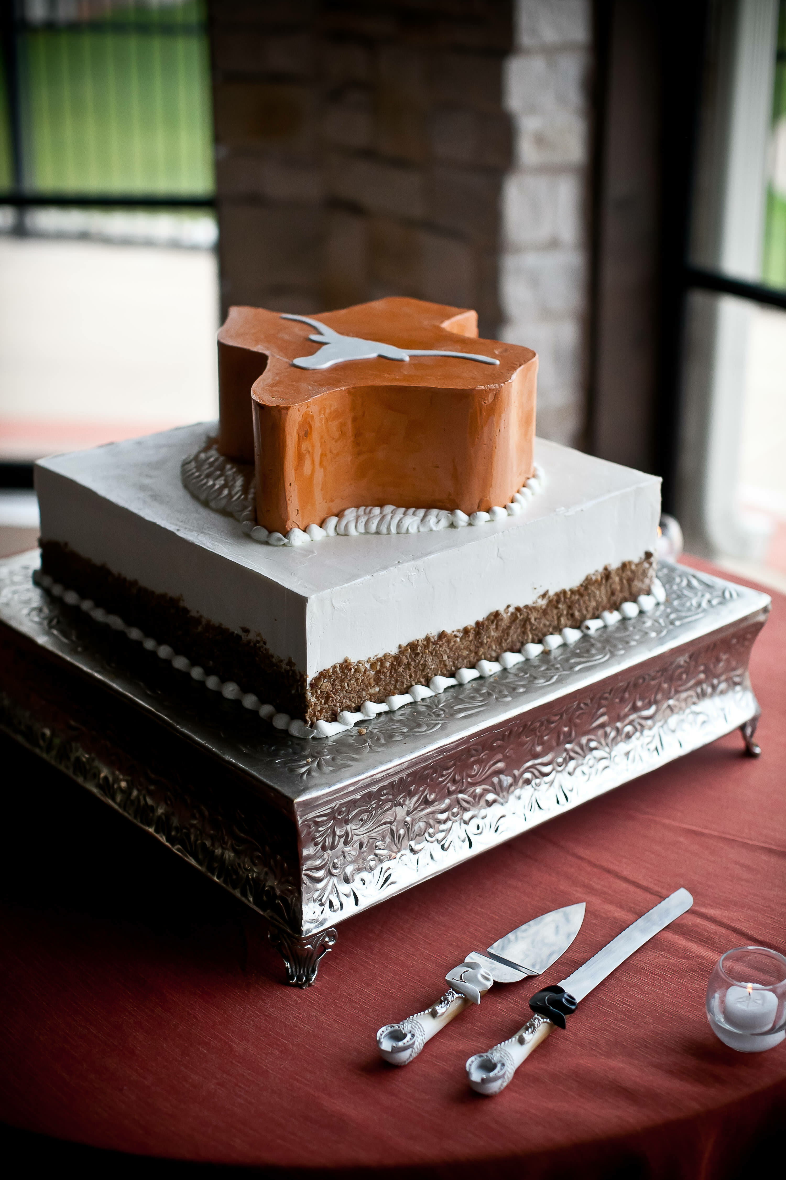 Featured: Martha Stewart Weddings | Grooms Cakes
