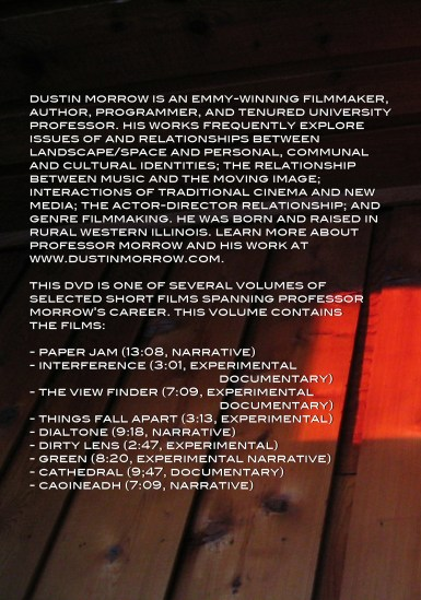 SHORT FILMS VOL3 DVD back