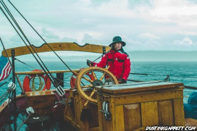 Our captain steering us out of the mess Stu got us into ;)