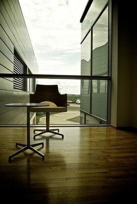 clean tile floor