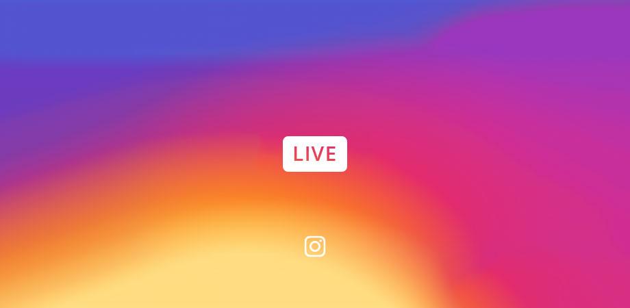 instagram live video logo