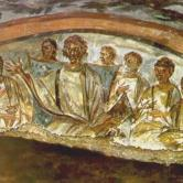 JESUS IN ROME CATACOMS