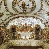 bones in the roman catacombs