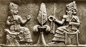 Enki And Ninhursag And The Tree Of Life
