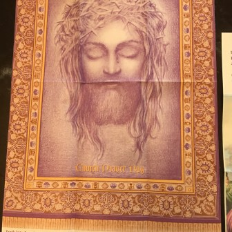 Saint Matthews Churches Prayer Rug Front