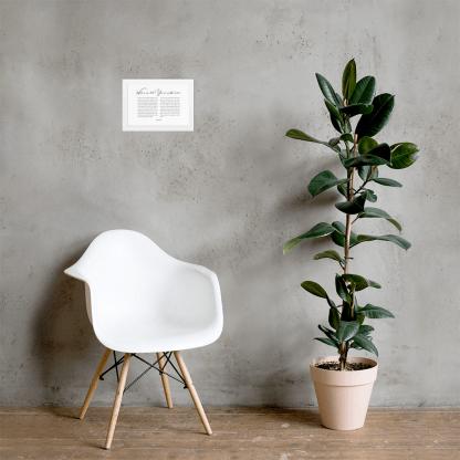 Psalm 8 enhanced-matte-paper-framed-poster-(cm)-white-21x30-cm-lifestyle-2-60301076d357b