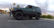 Cole's Mean Green XJ Cherokee
