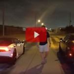 """""""Stolen"""" Lamborghini vs. Hellcat Street Racing"""