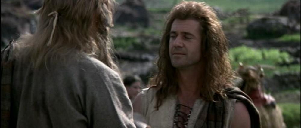 Braveheart 1995 Mel Gibson Slices Of Cake