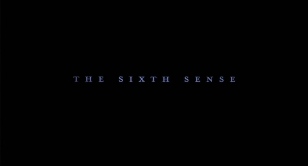 The Sixth Sense 1999 M Night Shyamalan Slices Of Cake