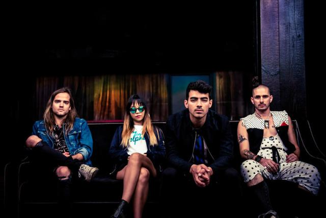 DNCE (Photo by Meredith Truax)