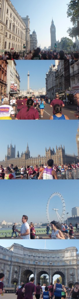 A few snaps taken on the Royal Parks Foundation London Half Marathon... much to the consternation of my fellow runners.