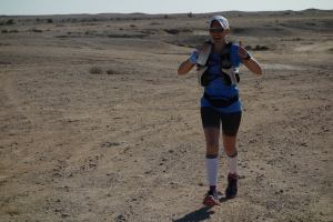 Sleep-deprived 50km runner! (Thanks to Stephen Blows for this photo)