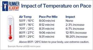 According to Noakes' research we should be at a standstill with temps of 35C+