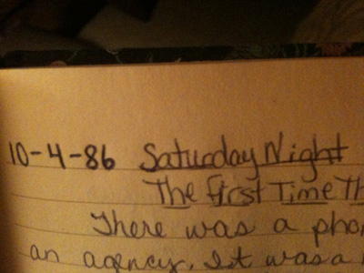 Journal entry 86 wp