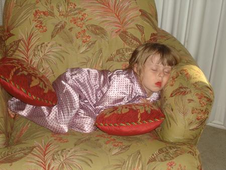 Anna - sleeping wp