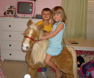 Anna - bday pony