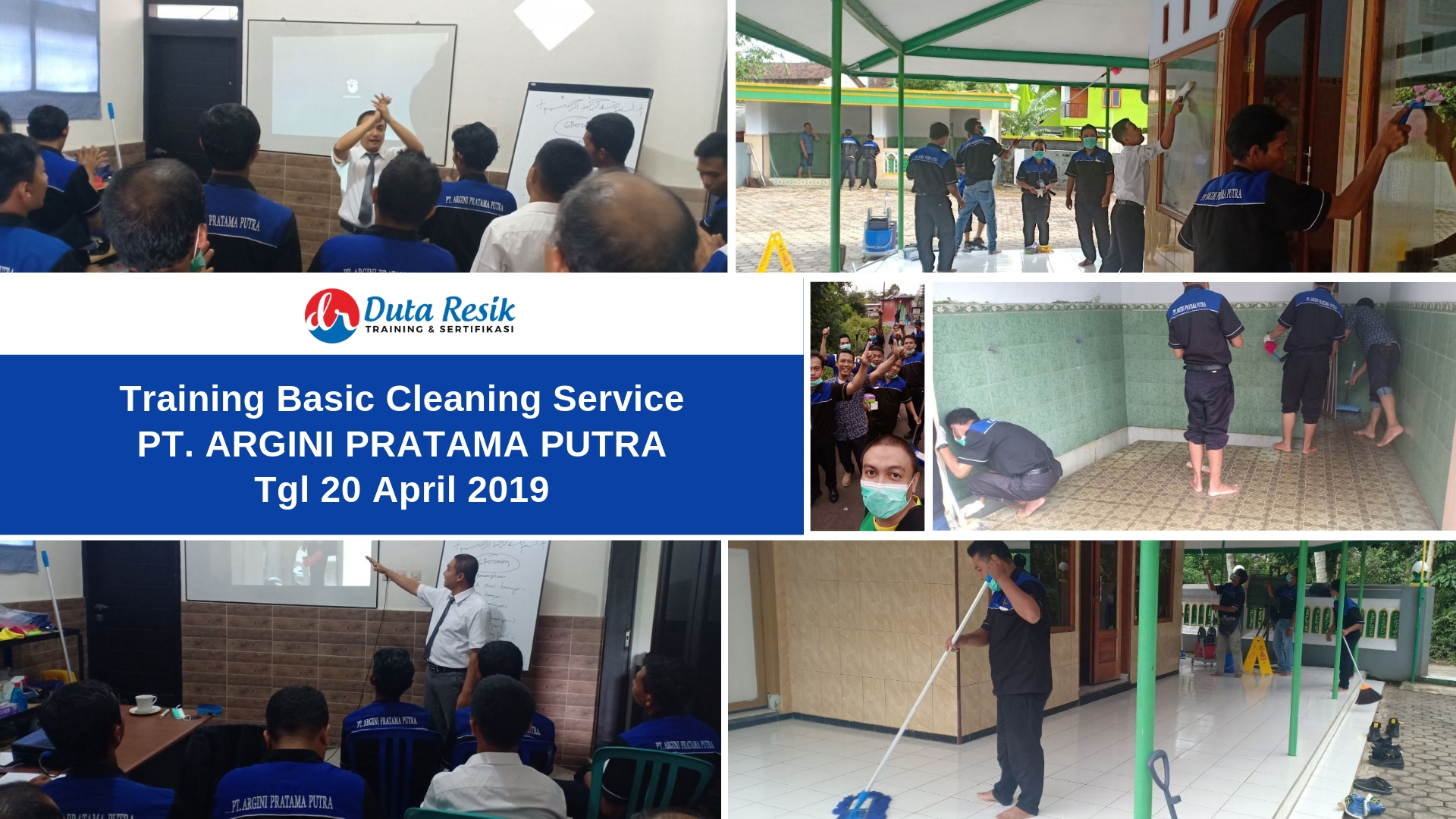Training Basic Cleaning Service di PT. Argini