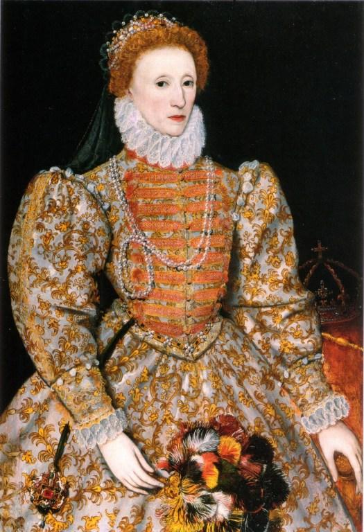 Queen Elizabeth I in all her glory