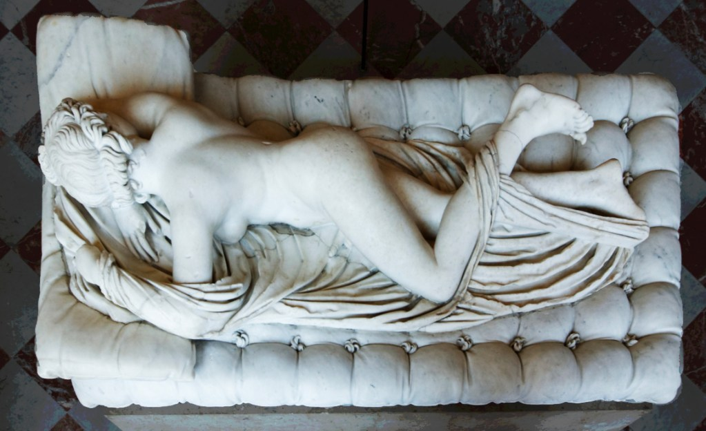 Sleeping Hermaphroditus at the Louvre Museum